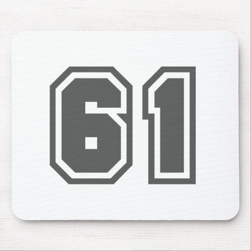 61 ALFOMBRILLAS DE RATON