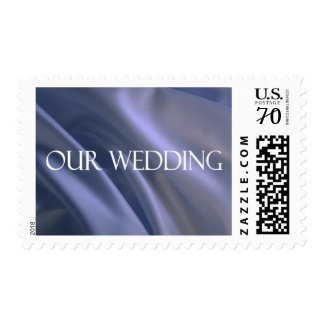 """.61 CENT POSTAGE STAMP """"OUR WEDDING"""""""