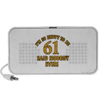 61 o aniversario del año