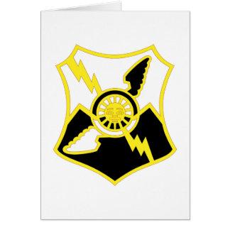 61.o Regimiento de la artillería de la defensa Tarjeta De Felicitación