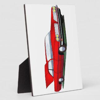 61 Pontiac 2 Door Hardtop Display Plaque
