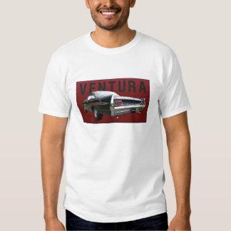 61 Pontiac Ventura Rear View on tee shirt.