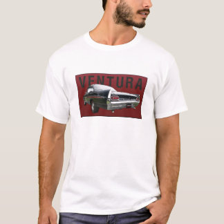 61 Pontiac Ventura Rear View on tee shirt.