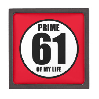 61 - prime of my life gift box