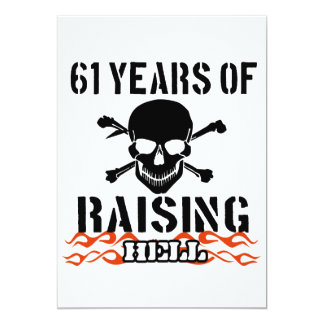 61 years of raising hell card