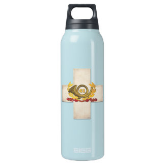 61st Corp Badge Thermos Bottle