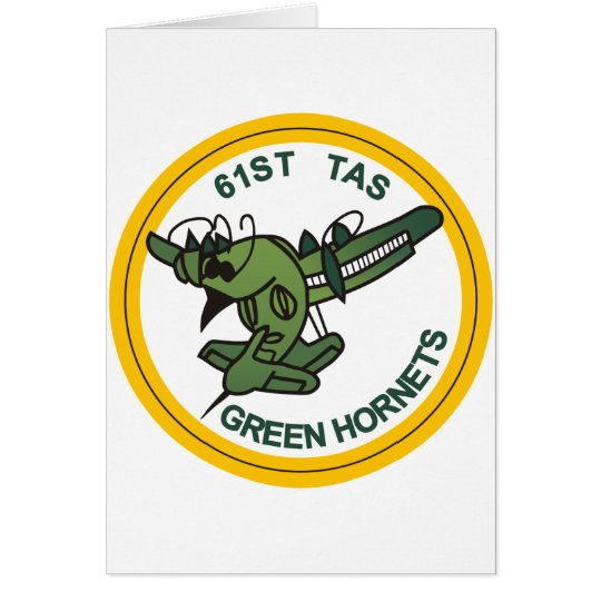 61st Tactical Airlift Squadron Card