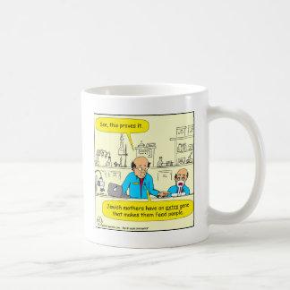 622 extra gene cartoon coffee mug