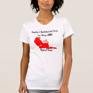 62379, Devil/Angel Naughty/Nice Bachelorette Party T-Shirt