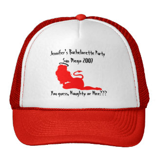 62379angeldevil, Jennifer's Bachelorette PartyS... Trucker Hat