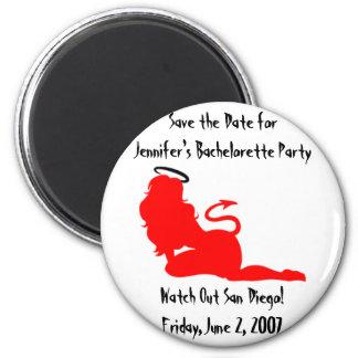 62379angeldevil, Save the Date for Jennifer's B... Magnet