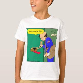 624 Odin gets mail cartoon T-Shirt