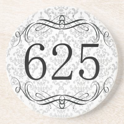 625 Area Code Beverage Coaster by AreaCodes