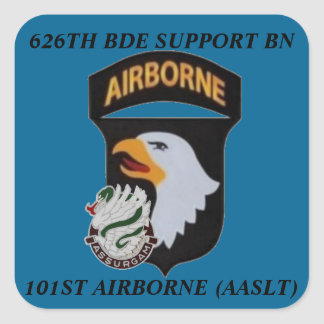 626TH BDE SUPPORT BN 101ST AIRBORNE STICKERS