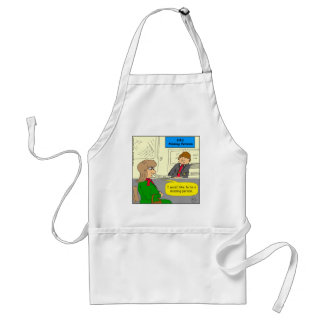 628 missing person cartoon adult apron