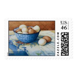6293 huevos en franqueo del cuenco del Enamelware