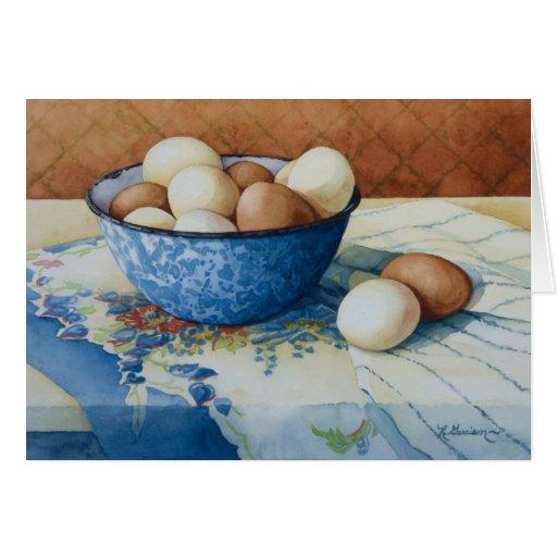 6293 huevos en tarjeta de cumpleaños del cuenco de