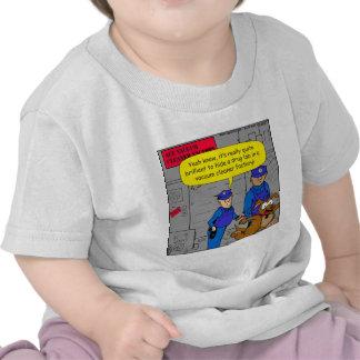 629 fearful police drug dog cartoon t shirts
