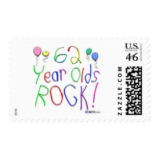 ¡62 años de la roca