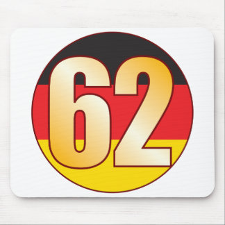 62 GERMANY Gold Mouse Pad