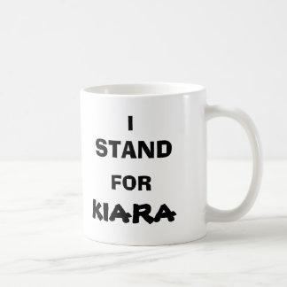 62, I, STAND, FOR, KIARA CLASSIC WHITE COFFEE MUG