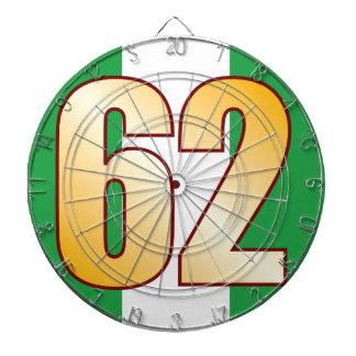 62 NIGERIA Gold Dart Boards