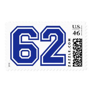 62 - número