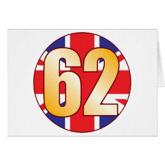 62 UK Gold Card