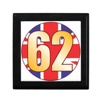 62 UK Gold Jewelry Box