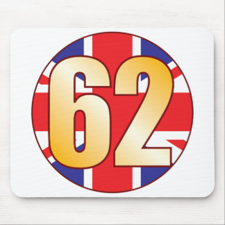62 UK Gold Mouse Pad
