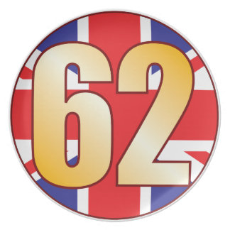62 UK Gold Plate