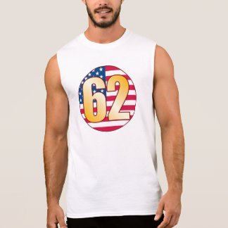 62 USA Gold Sleeveless Shirt