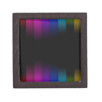62B RAINBOW STRIPES BLACKOUTS GRAPHICS BACKGROUNDS PREMIUM GIFT BOX