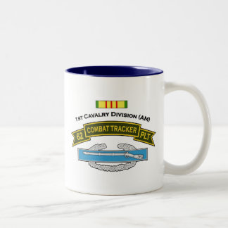 62d IPCT - 1st Cavalry Two-Tone Coffee Mug
