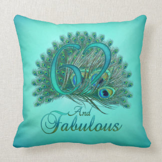 62nd Birthday Pillows