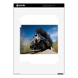 630 steam coming over remote trestle decal for iPad 2