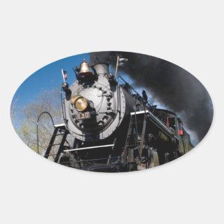 630 steam coming over remote trestle oval sticker