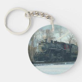 #630 Steam Engine Key Chain