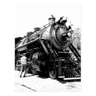 630 Steam Postcard