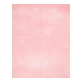 """6358 PERFECTLY PLEASANTLY PINK SOLID CLOUDY BACKGR 8.5"""" X 11"""" FLYER"""