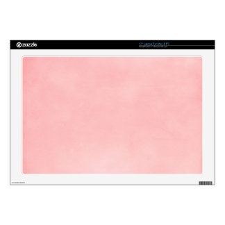 6358 PERFECTLY PLEASANTLY PINK SOLID CLOUDY BACKGR SKIN FOR LAPTOP