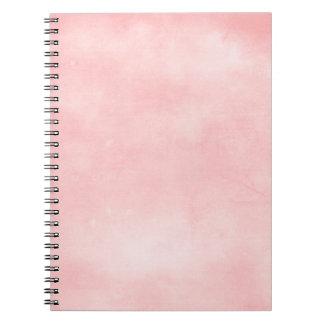 6358_solid-paper-pink- PARTE POSTERIOR HINCHADA Libro De Apuntes