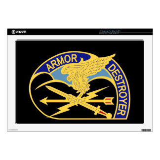 """635th Aviation Group - Armor Destroyer Decal For 17"""" Laptop"""
