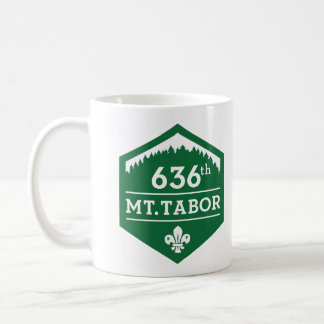 636o Mt. Tabor - taza verde del logotipo