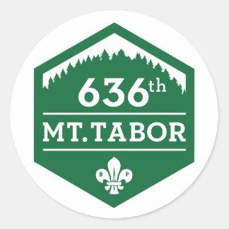 636th Mt. Tabor — Logo Sticker sheet of 20
