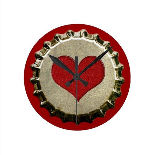 6375_red-heart-bottle-cap-topGraphic CORAZÓN ROJO  Reloj