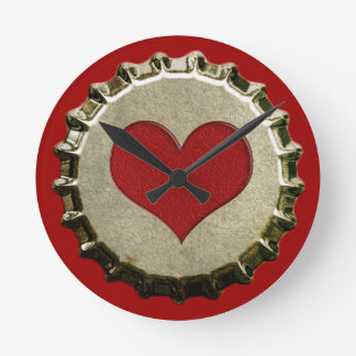 6375_red-heart-bottle-cap-topGraphic RED HEART BOT Clock