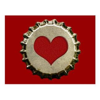 6375_red-heart-bottle-cap-topGraphic RED HEART BOT Post Cards