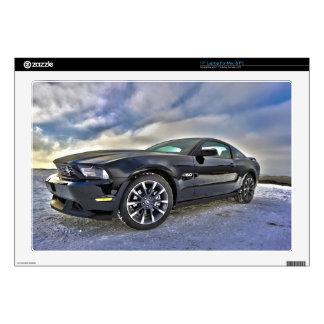 "63930 DIGITAL ART REALISM COOL RACING CAR  auto ve Skins For 17"" Laptops"