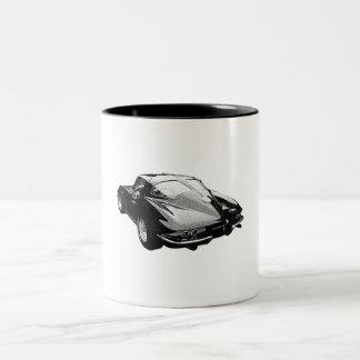 '63 Corvette split-window Two-Tone Coffee Mug
